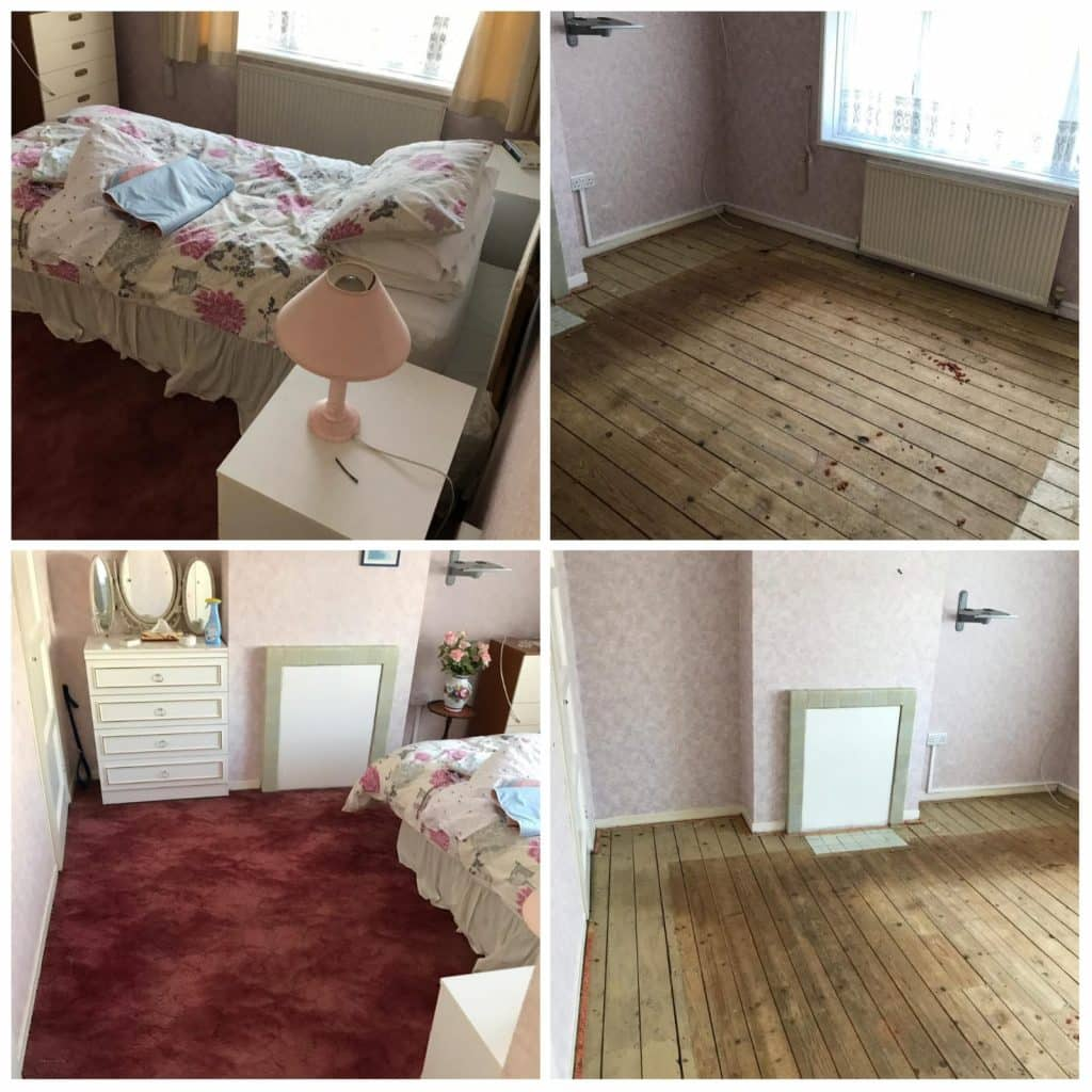 House clearance including carpet clearance